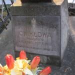 Płyta na grobie Stanislawy Tarczyńskiej