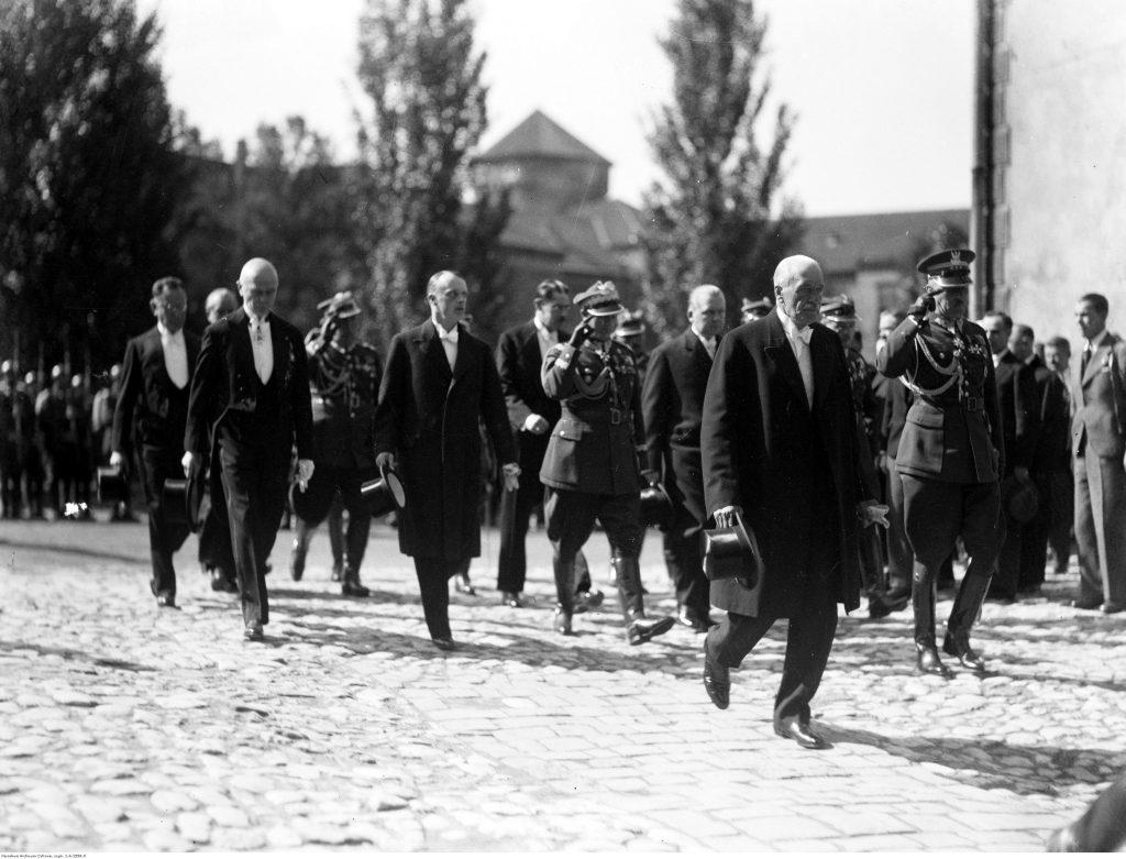 Wizyta prezydenta Mościckiego w Krakowie, 31.06.1935 r,